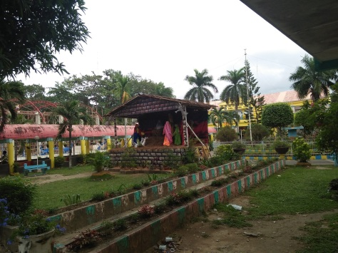 Christmas Spirit fronting Barili Municipal Hall
