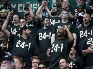 Bucks' fans came in already celebrating