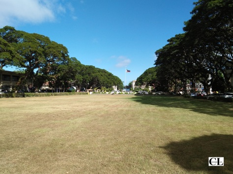 On the grounds of Silliman