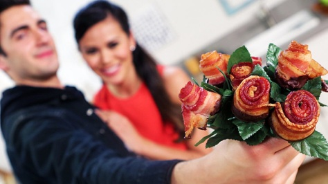 Bacon Rose Bouquet