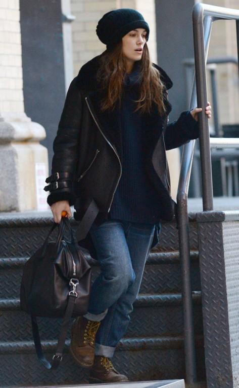 Keira Knightley in NYC
