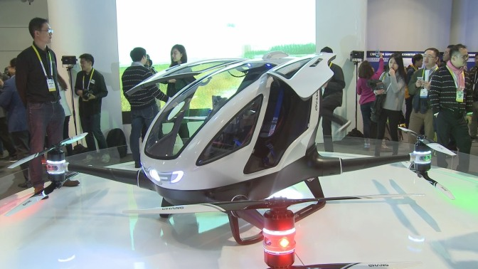 Gadget Review: EHang 184, World's First Human-sized Drone