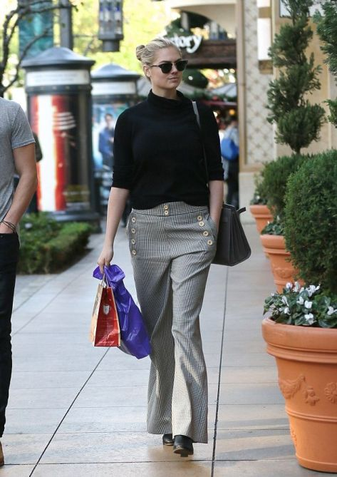 trousers 1 black western-style shirt and brown trousers at Los Angeles on Monday, December 21, 2015 03