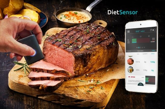 Gadget Review: DietSensor (CES 2016)