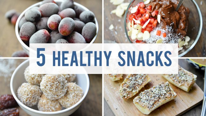 Consumer Videos: Simple DIY Healthy Snacks