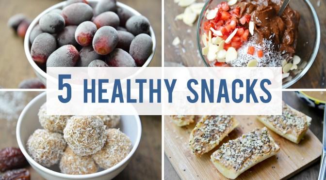 Consumer Videos: Simple DIY Healthy Snacks