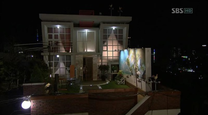 TV Set Design: Rooftop Prince (Korean 2012)