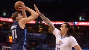 Dallas' Dirk Nowitzki needs help