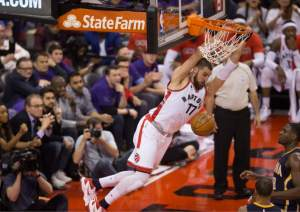 Raptors' Valanciunas Pacers' matchup could be Jordan Hill