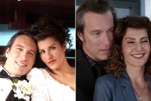 Through the years: Toula and Ian