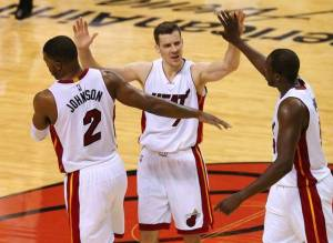 Dragic. Johnson. Deng. Guys that need to be more consistent if they really aim to make the NBA Finals.