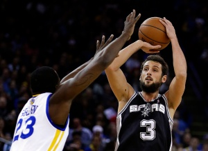 Marco Belinelli could have really helped the Spurs win their 6th title (AP Photo/Ben Margot)