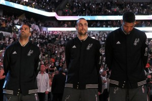 Non calls in Game's 2 and 5 tainted the series outcome. So if only to redeem 'everybody', the Spurs' Big Three should not yet retire.