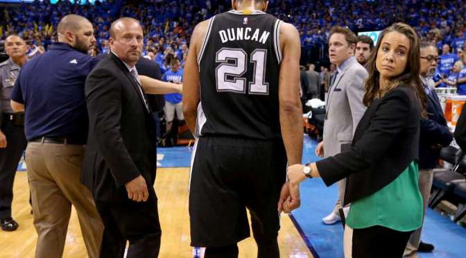 2016 NBA PlayOffs: May 12, 10 Signs the San Antonio Spurs were going to lose