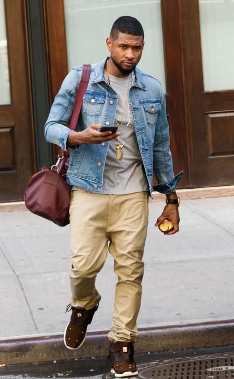 Usher in New York City