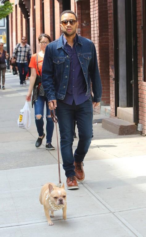 John Legend in NYC