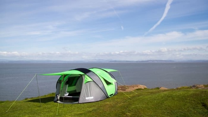 Product Review: CINCH Pop-up Tent with Solar Power and LED