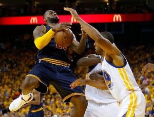 It's not the East, LeBron (D. Ross Cameron/Bay Area News Group)