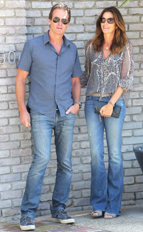 Cindy Crawford & Randy Gerber