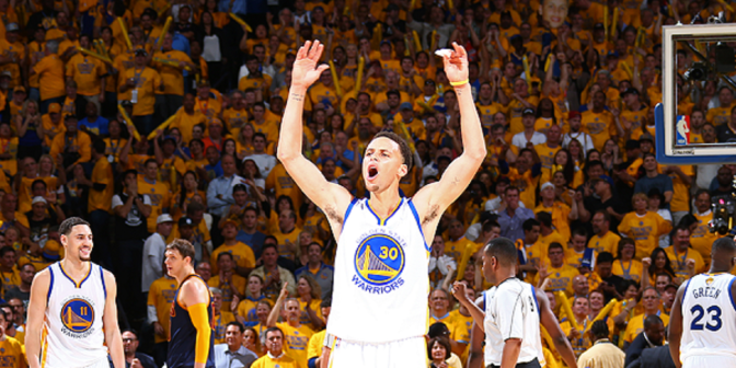 2016 NBA Finals: G2 – Warriors 110, Cavaliers 77