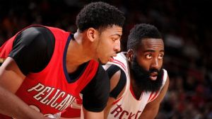 Pelicans' Davis and Rockets' Harden