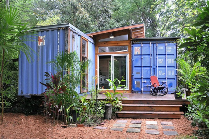 Consumer Video: Building your Shipping Container house