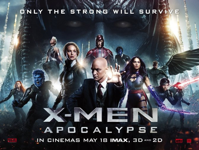 Movie Review: X-Men Apocalypse (2016)
