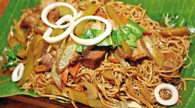 Food & How To: Pancit Habhab (Filipino)