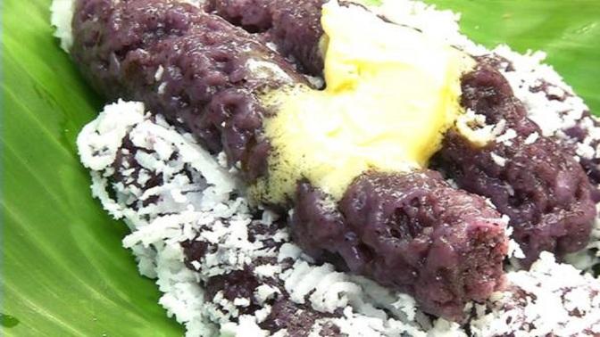 Food & How To: Puto Bumbong (Filipino)