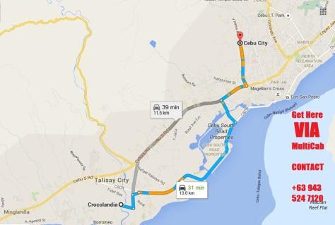 To get to Crocolandia