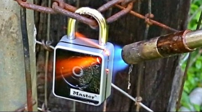 Consumer Video: Bluetooth Smart Lock Fire Test