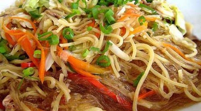 Food & How To: Bam-I (Filipino)