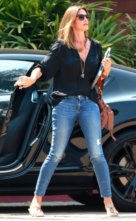 Cindy Crawford in Malibu