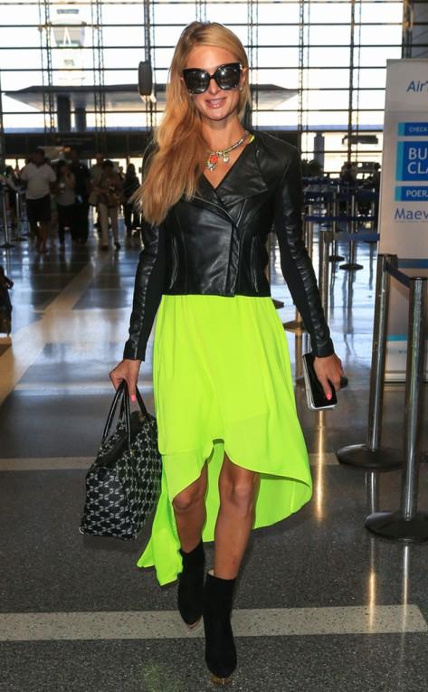 Paris Hilton at the LAX