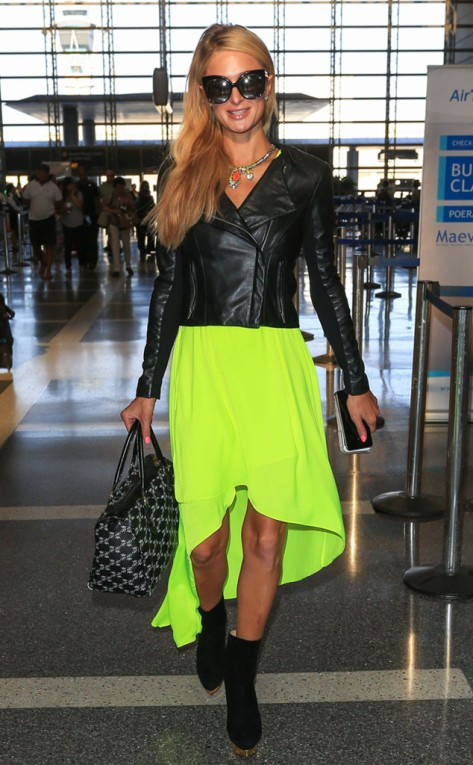 Paris Hilton at the LAX