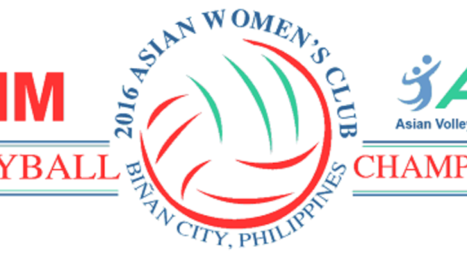 2016 Volleyball Asian Women's Club (Laguna, Philippines)