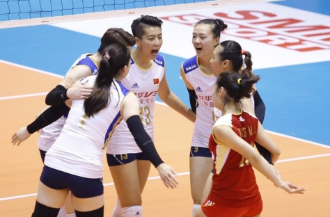 China came back to win a thrilling match, 3-2