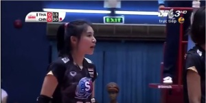 #20 Soraya. Good setter but should have played lesser than #3 Pornpun