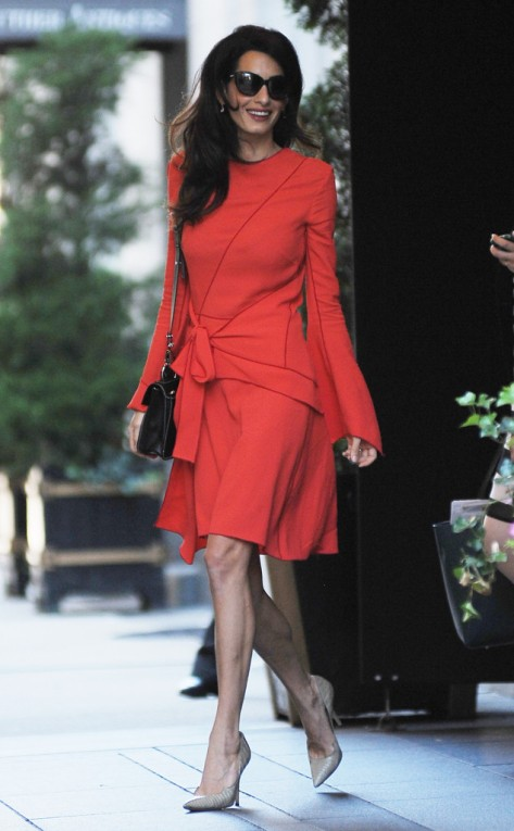 Amal Clooney in New York City
