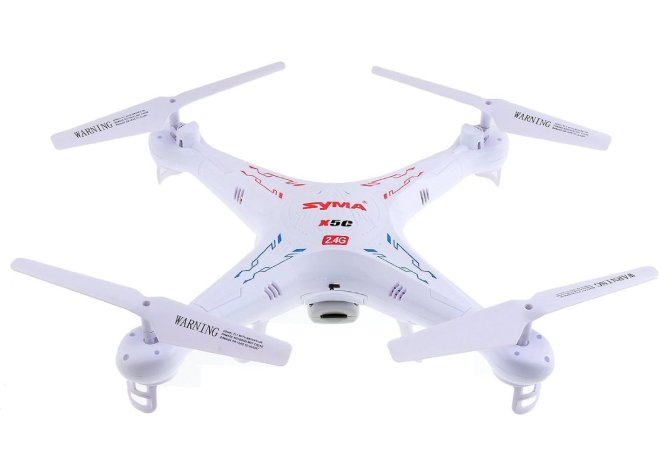 Review: Syma X5C 2.4G 6 Axis Gyro HD Camera RC Quadcopter