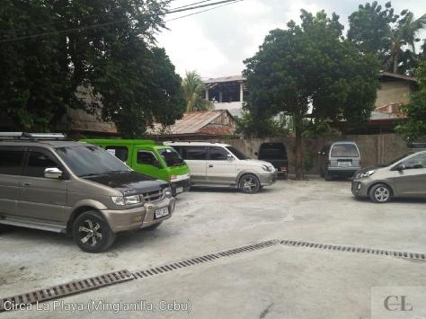 Parking Area near the Entrance