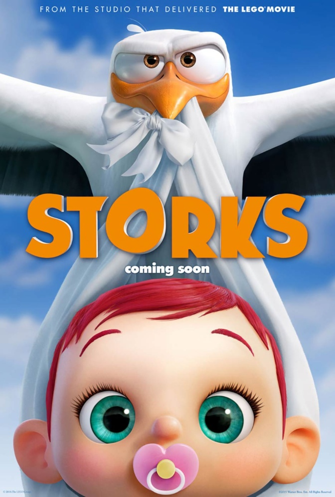 Movie Review: Storks (2016)