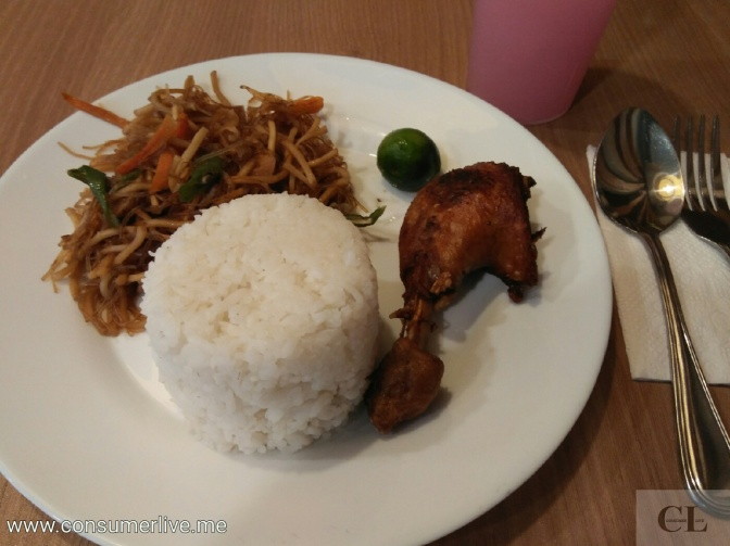Food Review: Bam-I and Fried Chicken (Mother's Fried Chicken)