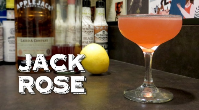 Cocktail: How to Make a Jack Rose
