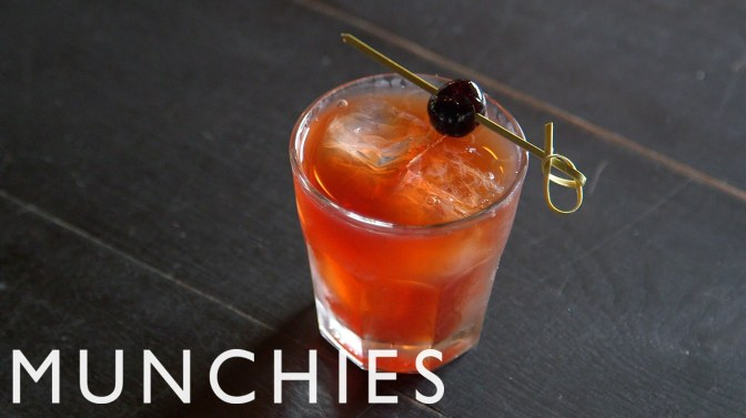 Cocktail: How to Make a Manhattan
