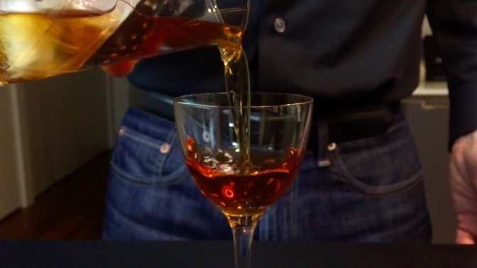 Cocktail: How to Make a Martinez