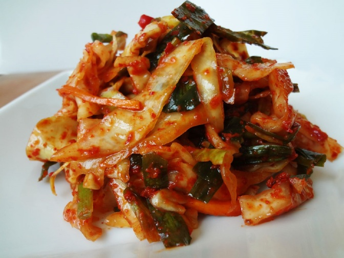 Food & How To: Emergency Kimchi (yangbaechu-kimchi: 양배추김치)