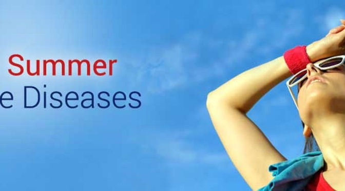 9 Common Summer Diseases and Precautions