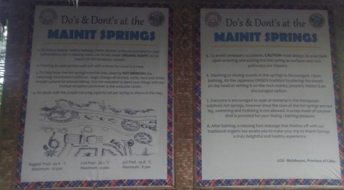 In Pictures: Mainit Springs (Cebu)