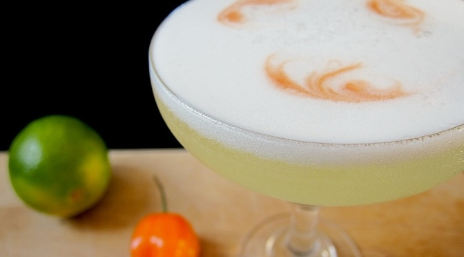 Cocktail: How to Make a Pisco Sour